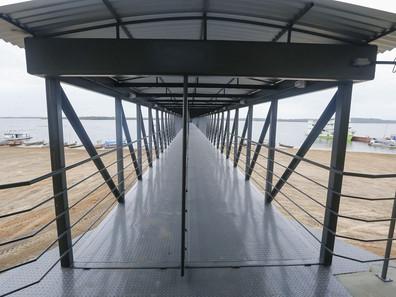 Conforto e segurança marcam o primeiro ano de operação do Terminal Hidroviário de Faro