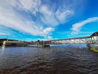 Governo do Estado entrega Terminal Hidroviário de Almeirim, no Baixo Amazonas
