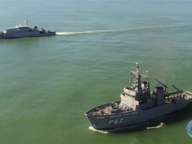 Patrulha Naval simultâneas da Marinha do Brasil e Francesa reforçam segurança na região norte