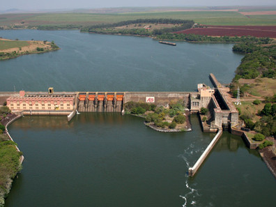 Crise hídrica ameaça o transporte hidroviário