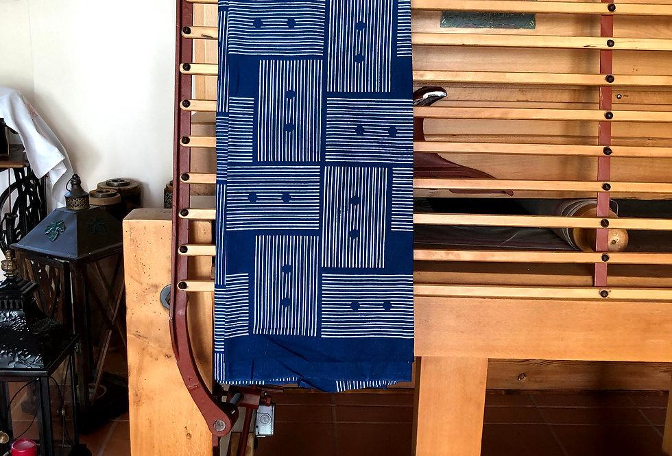 Blaudruck Meterware  modern