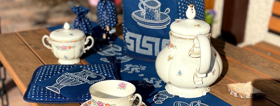 Kaffee-Sachsen-Tischband