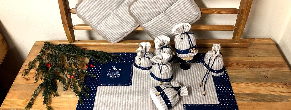 Blaudruck Geschenk Set 02