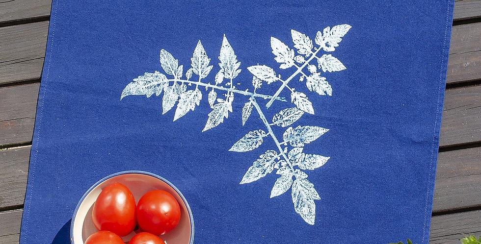 Indigo Art Tomato Leaves