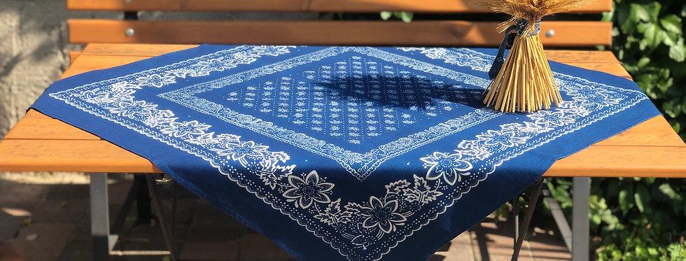 Blaudruck Decke