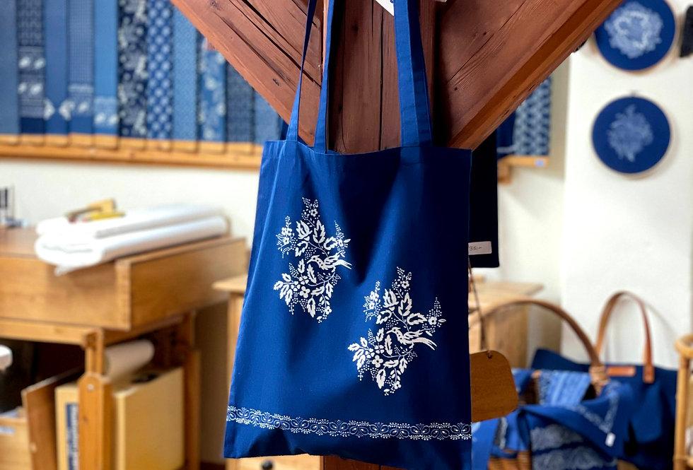 Blaudruck Tasche