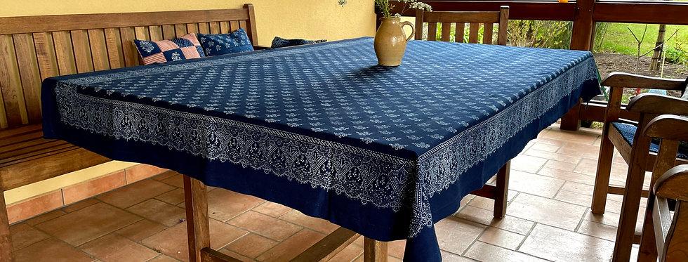 Blaudruck Tischdecke traditionell
