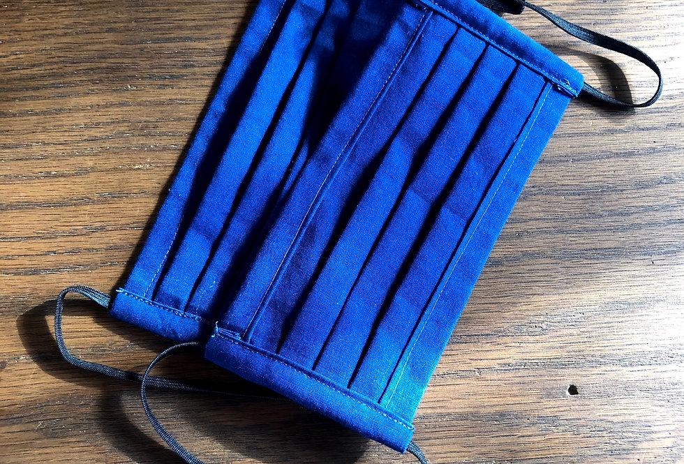 Blaudruck Mund Tuch Set