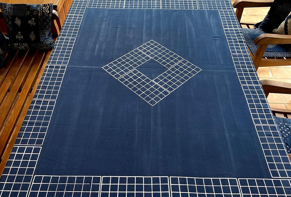 Blaudruck Tischdecke New Design