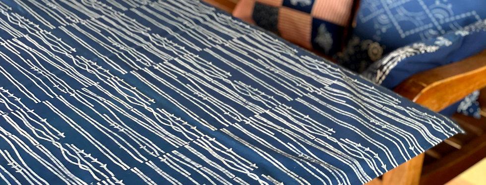 Blaudruck Tischdecke