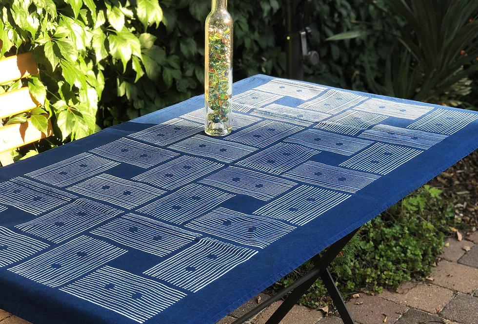Blaudruck Decke Design
