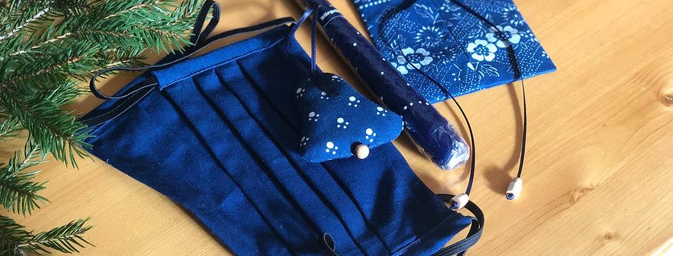 Blau - Weiß Geschenk