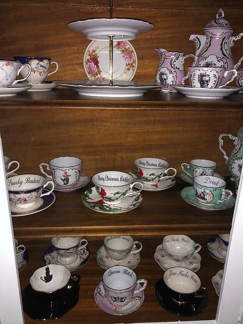 Tea Cup w/ Saucer Set