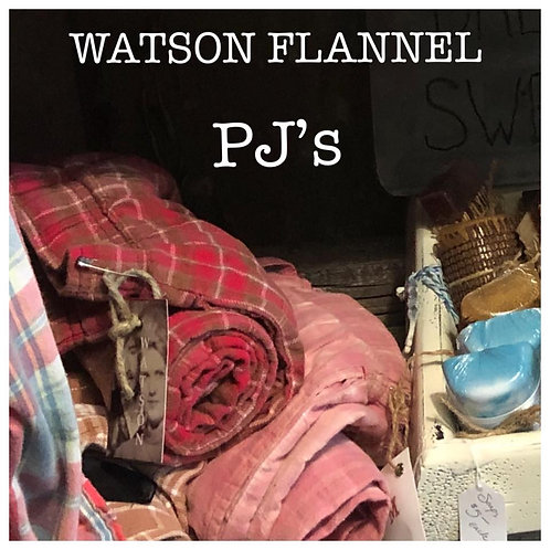 Watson Flannel PJs