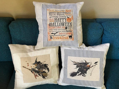 Pillows (Ticking Border) - LIMITED EDITION