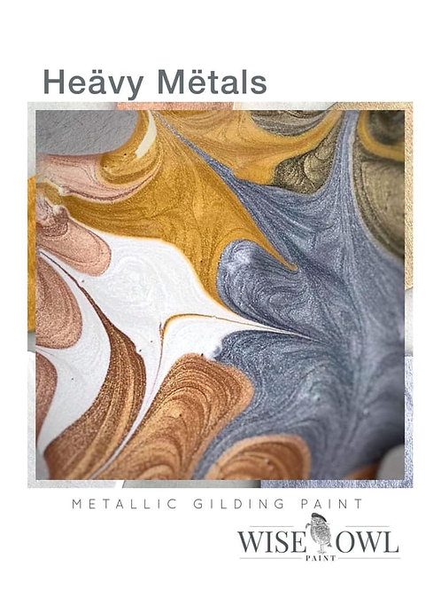 Wise Owl Heavy Metals- Metallic Gilding Paint