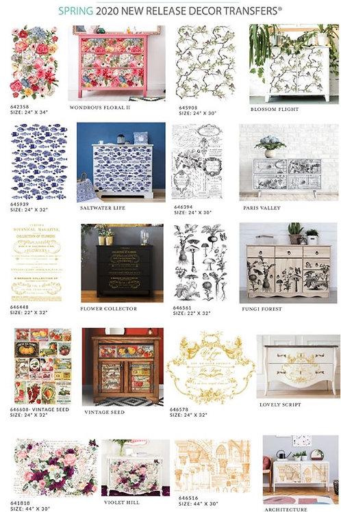 Re-Design with Prima- Decor Transfers