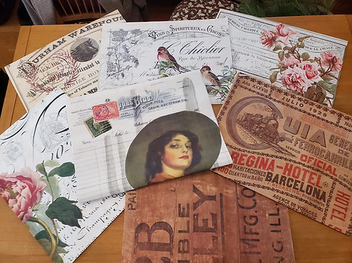 Roycycled Decoupage Papers - 18 lb Exclusive