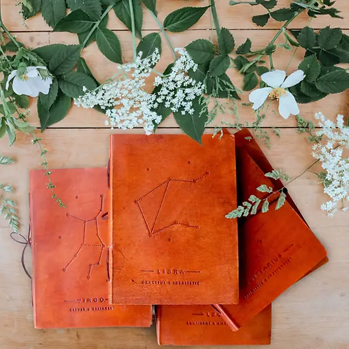 Zodiac Leather Journal