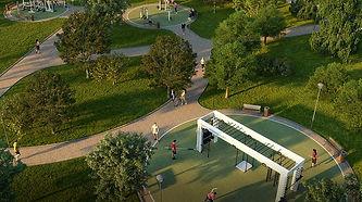 Проект Сада усадьбы Леоново