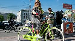 на работу на велосипеде гбу озеленение