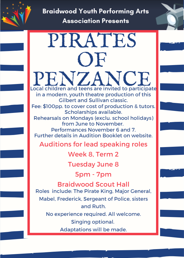 Promotion Image (Pirates of Penzance - a
