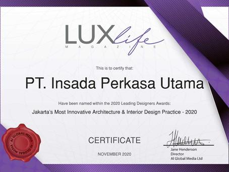 Jakarta's Most Innovative Architecture & Interior Design Practice 2020