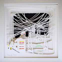 Paper Cut 3D -Radu. St. Poleac- The web