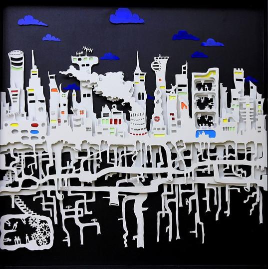Les racines de la ville -vu de jour -Rad