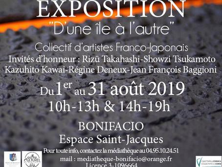 """Exposition Bonifacio """"D'une île à l'Autre"""""""