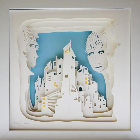 Paper Cut 3D -Radu. St. Poleac- Center c