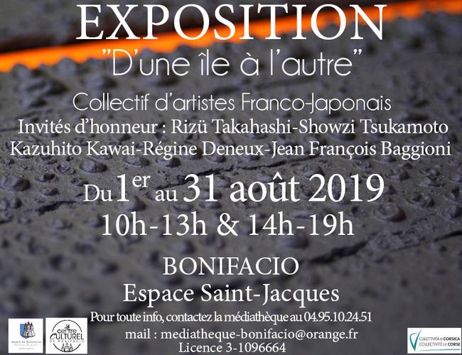 Expo Franco-Japonaise  à Bonifacio