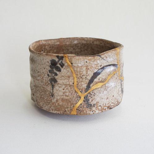 No.021 E- Shino Chawan (Tea Bowl)