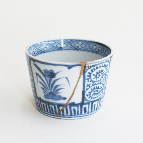 No.10 Old Imari Blue and White Soba Cup