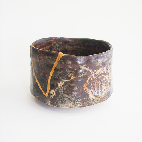No.020  E- Shino Chawan (Tea Bowl)