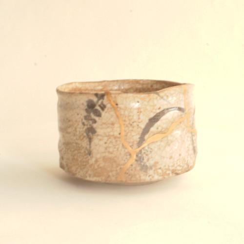 021 絵志野茶碗