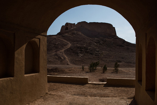 Tour du silence, désert de Yazd