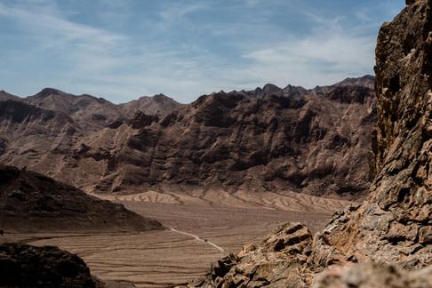 Tour Chak Chak, désert de Yazd