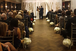 Mr & Mrs. H Ceremony