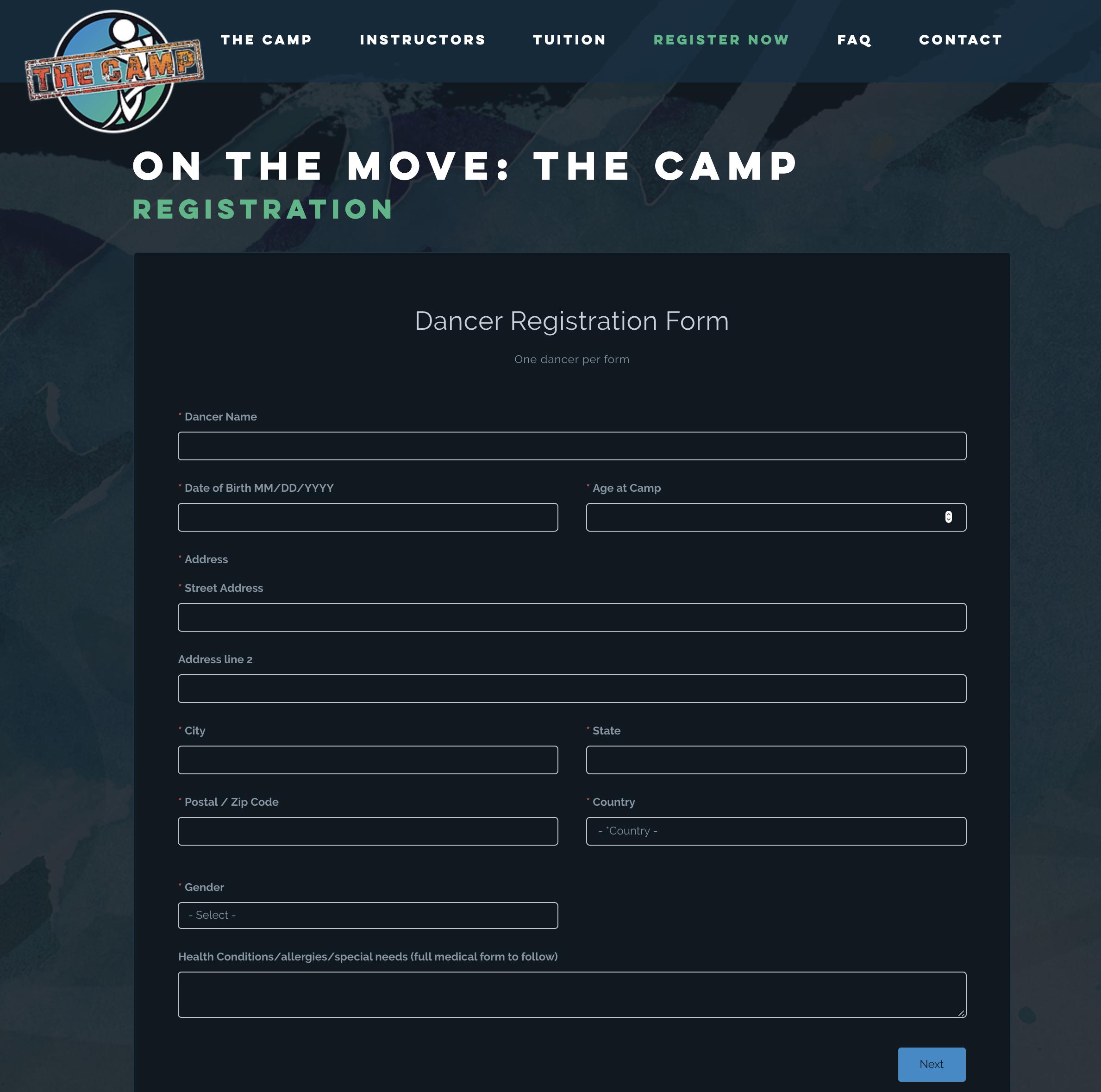 onthemove-camp-form