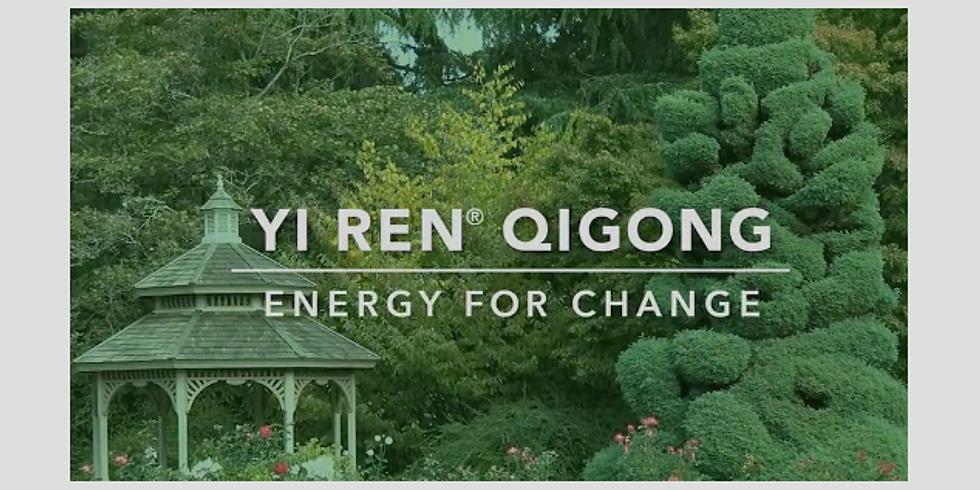 Qigong and Sound Healing in Rose Garden