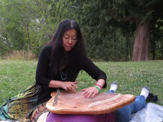 Healing Lyre in Blyth Park