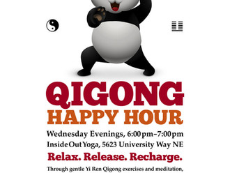 Free Your Spirit at QIGONG HAPPY HOUR!