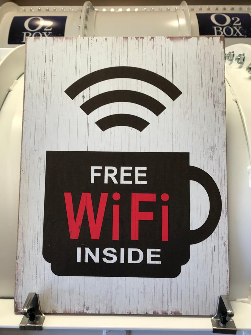 FREE WiFi完備