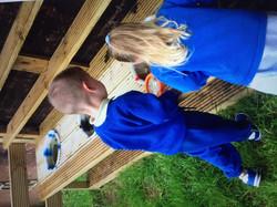 Bench playground photo