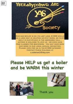 22. Ystradyfodwg Art Society - Poster - 220917