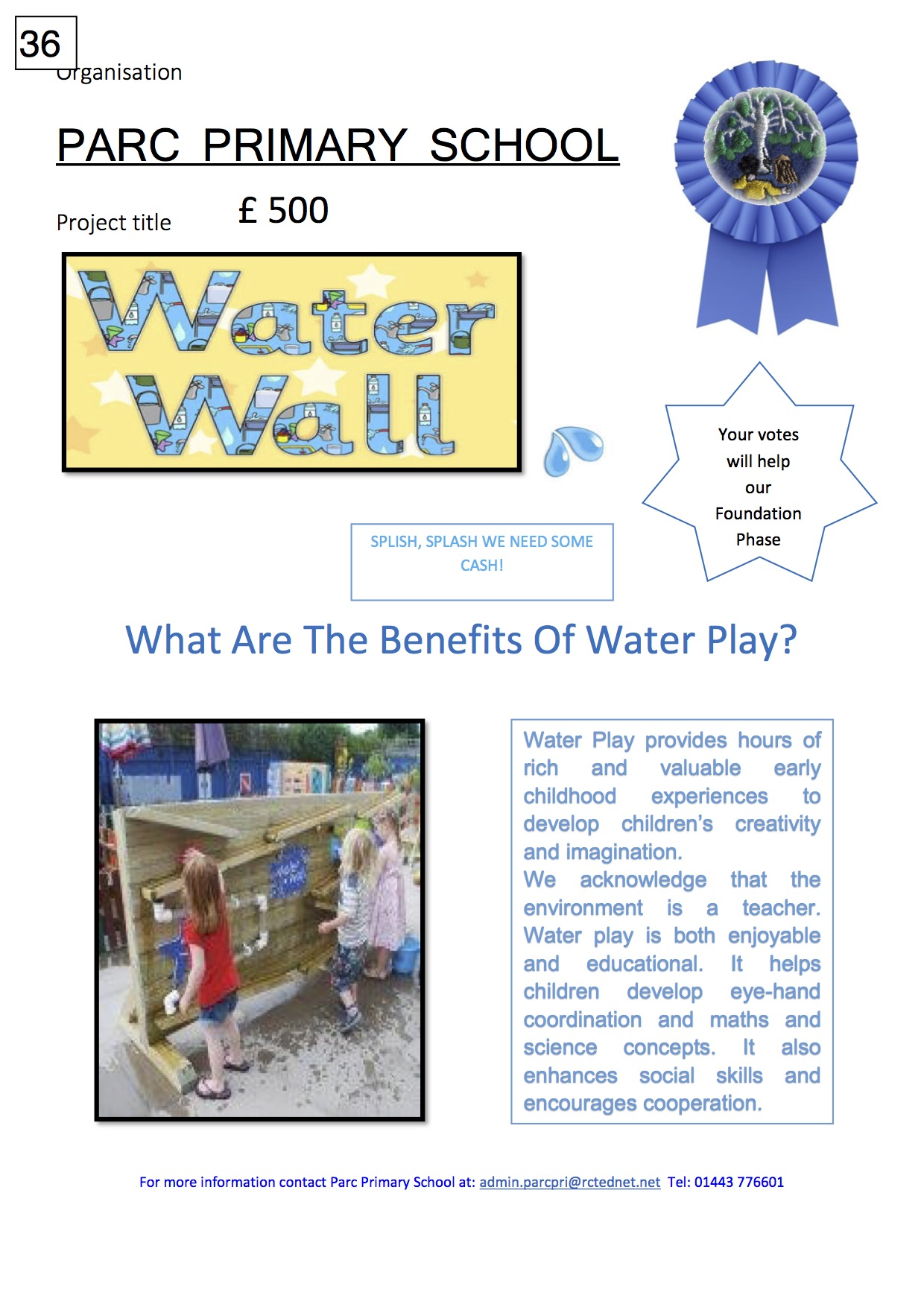 36. Parc primary Poster Water Wall pdf