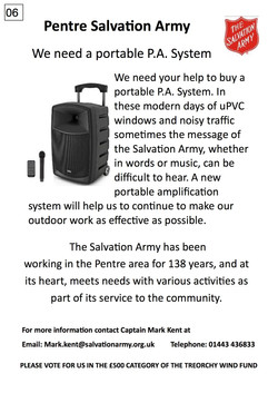 06. Salvation Army - Poster - 300917