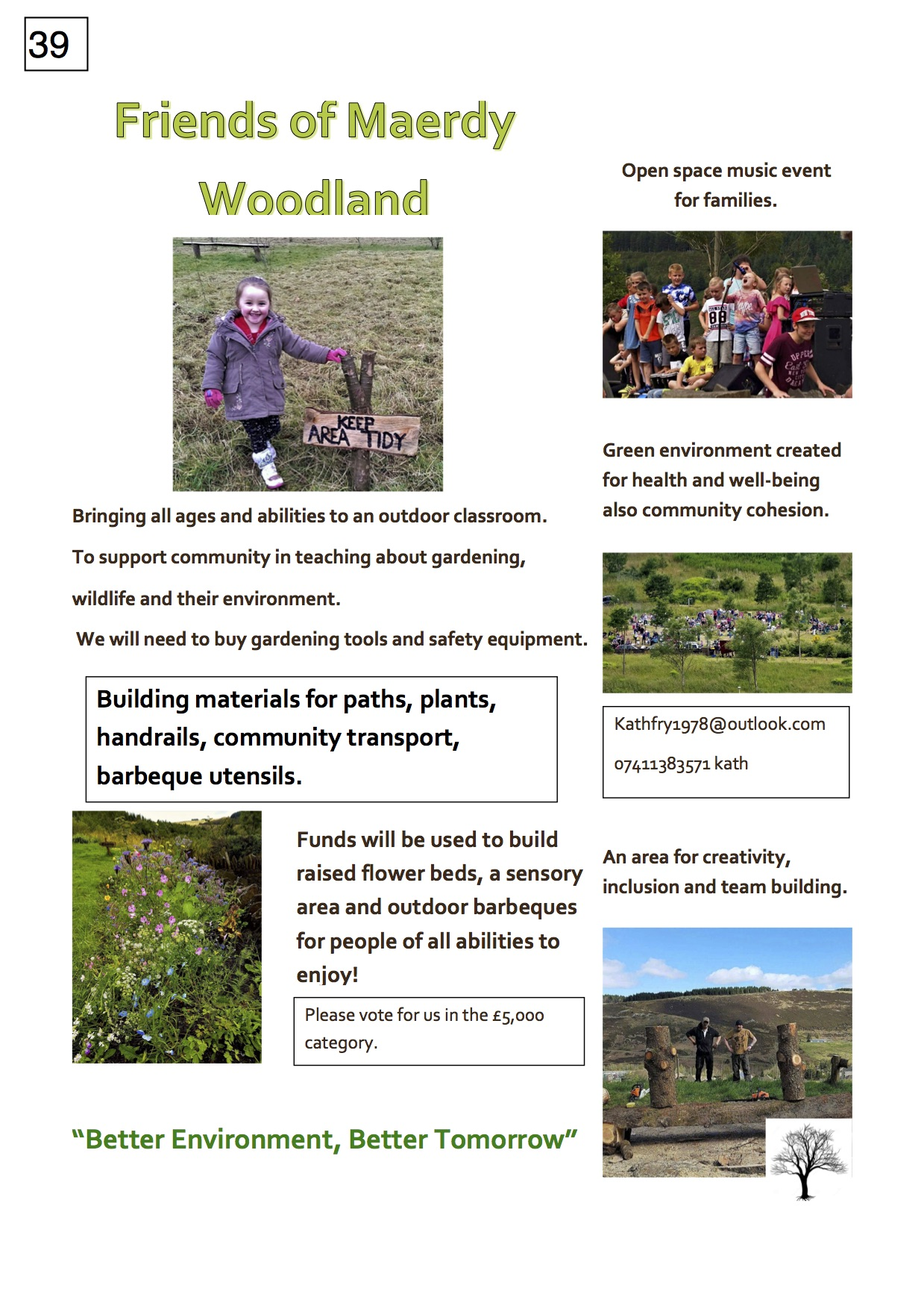 39. Maerdy Woodlands - Poster - 221017