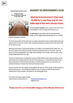 34. Maerdy Ex Club 5000 Bid Poster